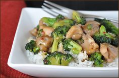 Chicken broccoli stir fry. made it tonight (missing a few ingredients) and it was good!
