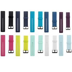 Fitbit Blaze Smart Fitness Watch Classic Silicone Replacement Accessory Bands/ Wristband Bracelet Straps Bundle with Watchband Buckle - 10 Colors Pack, Large Size - http://www.exercisejoy.com/fitbit-blaze-smart-fitness-watch-classic-silicone-replacement-accessory-bands-wristband-bracelet-straps-bundle-with-watchband-buckle-10-colors-pack-large-size/fitness/