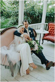 Intimate Justine's Secret House Wedding