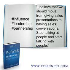 #influence #leadership #partnership