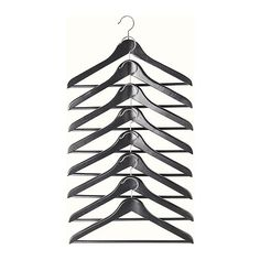 Wooden hangers. You can buy a few sets each time you shop and soon your closet will be organized.
