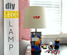DIY Lego Table Transformation