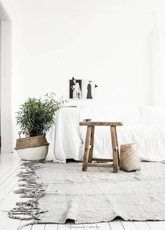 Scandi-inspired minimalist space.