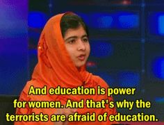Malala Yousafzai quotes (with images, tweets) · City_Press2 · Storify