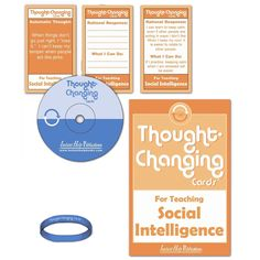 This kit is intended to help clients with Asperger Syndrome and other social skills problems. It contains 50 cards that show cognitive distortions on one side, and rational responses and behavioral activities on the other.