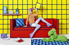 La publicite pop art de sagmeister walsh pour aizone