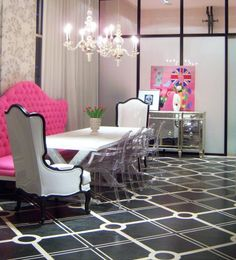 Eye For Design: Acrylic Chic Decor.....CLEARLY A Must For Your Interiors