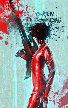 O-ren Isihi from Kill Bill/my favorite female assassin!!!!!