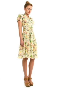 Edina Ronay Live To Love Fairtrade Fortnight Dress (Vogue.com UK)