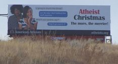 Family featured on Atheist anti-Christmas billboard are Christian Christian Memes, Atheism, Text Messages, Billboard, Christianity, Yup, Funny Pictures, Believe, Articles