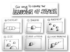 There are six easy ways to make our three-dimensional drawings and give the illusion of depth and space; through these six tips we could see through the history of art and discover how artists have...
