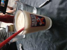 Salted Caramel Milkshake with vodka
