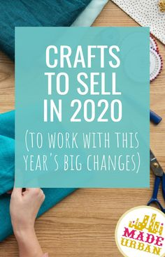 2020 has brought some big changes that have altered what people shop for and how they shop. If your craft business's sales have dropped, here are some product ideas to get shoppers buying from you again. Etsy Crafts, Handmade Crafts, Fun Crafts, Handmade Ideas, Etsy Business, Craft Business, Business Ideas, Business Money, Crafts To Make And Sell