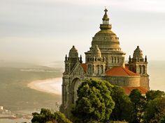 Viana do Castelo - Basílica de Santa Luzia / LUIS FELICIANO