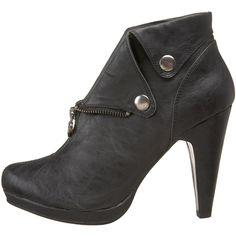 #tuk black ankle boot #endless $55