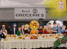 national lampoon last supper parody | Pop Culture Meets the Last Supper