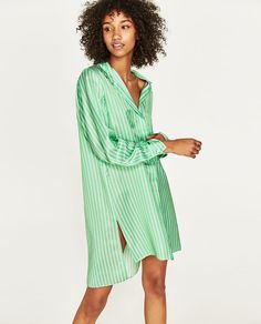 Image 5 of STRIPED TUNIC from Zara
