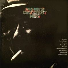 Front cover of Thelonious Monk's GREATEST HITS album in 1969. The letters look like Columbia's art department hadn't forgotten the sunning letters on the Byrds' FIFTH DIMENSION album of 1966.
