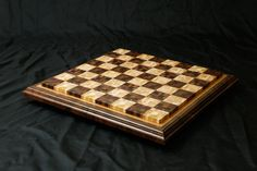 Chaotic pattern chessboard
