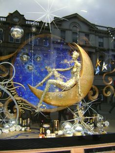 Universal Display: Harvey Nichols Holiday Display