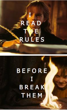 hermione granger - good girl or badass... or both?