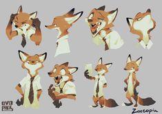 Zootopia Characters, Zootopia Art, Zootopia Concept Art, Star Fox, Furry Drawing, Anthro Furry, Fox Art, Character Drawing, Fox Character