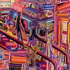 Escalator by JoshByer.deviantart.com on @DeviantArt