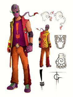 Sunset Overdrive Character Design by thegameworld on deviantART