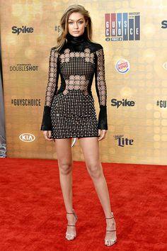2016 Guys' Choice Awards Red Carpet Photos: Gigi Hadid