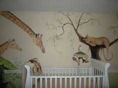 Jungle Animals - Giraffes - Leopards - Monkeys - Birds