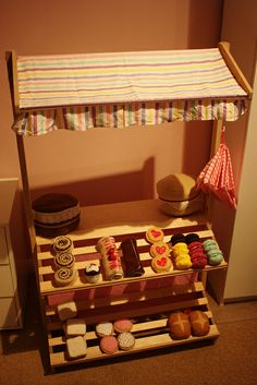 Toy Market Stall Shop by Create Make Bake, via Flickr