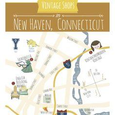 Vintanthromodern Vintage's Brick and Mortar shop in New Haven, CT