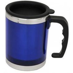 Classic can-shape with a design twist, this stainless steel interior and translucent exterior comes with a spill-proof lid. Available exterior colours are translucent blue, red or clear. Branded Gifts, Exterior Colors, Mars, Special Occasion, Thing 1, Canning, March, Exterior Paint Colors, Home Canning