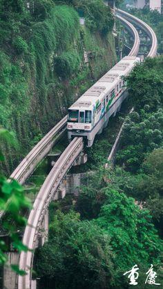 Travel Around The World, Around The Worlds, Scenic Train Rides, Metro Rail, Train Journey, Smart City, City Architecture, Train Tracks, Travel Aesthetic