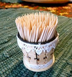 Make it easy crafts: K-Cup Crafts  Toothpick holder. …