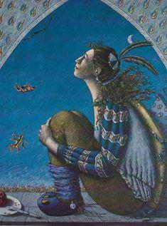 (Art & Poem) Mabon by Sudie Rakusin & Annie Finch – Return to Mago E*Magazine Autumnal Equinox, E Magazine, Mabon, Dark Art, Annie, Surrealism, Poems, Painting, Quotes