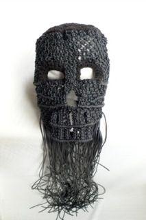 Von Sono Macrame mask http://www.vonsono.de/