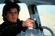 Thomas Howell you kill people with heaters pony 80s Movies, Film Movie, The Hitcher, The Outsiders 1983, Love Film, Tommy Boy, Cute Guys, Good Books, Cinema