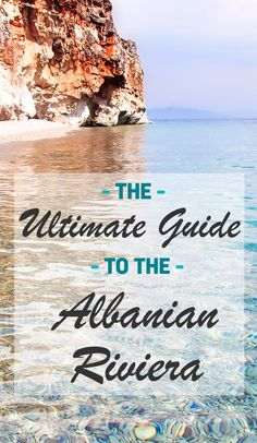 The Ultimate Guide to a Budget Beach Holiday in Albania : The Ultimate Guide to the Albanian Riviera - featuring the best beaches in Albania Albania Beach, Albania Travel, Visit Albania, Albania Tourism, Montenegro Travel, Corfu, Beach Holiday, Beach Trip, Beach Fun