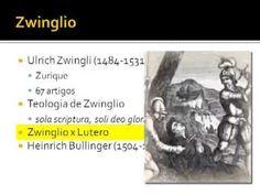 História da Igreja 37/56 - Zwinglio