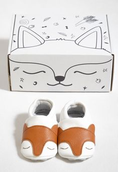 Kind Fox soft sole baby shoes for toddlers by First Baby Shoes
