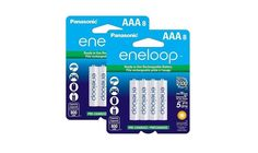 8 Pack Panasonic Eneloop AA Pre-Charged Rechargeable Batteries for $15.74 at Amazon & Walmart