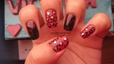 like this pattern/color combo--love me some leopard print