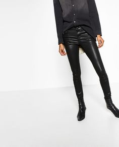 Image 2 of SKINNY TROUSERS from Zara