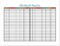 Track all the transactions on your checking account with the checkbook register printable. This printable budget binder includes pages of financial printables for Find out how to set up your binder and get your finances organized today! Home Binder, Budget Binder, Budget Planner, Happy Planner, 2017 Budget, Budget Spreadsheet, Monthly Budget, Planner Ideas, Bill Planner