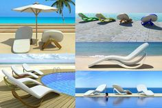 Flip Flop Loungers. So cute! But I can't find where to actually buy one.