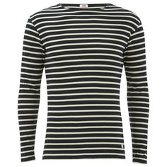 Get Armor Lux Men's Marinere Long Sleeve T-Shirt - Rich Navy/Zand now at Coggles - the one stop shop for the sartorially minded shopper. Free UK & EU delivery when you spend £50.
