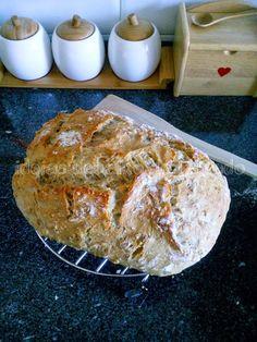 Ideias debaixo do telhado: Artisan Bread ou Pão Artesanal (preparação em 5 mi...
