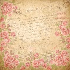 BLUSHING ROSE COLLECTION 6x6 PAPER PAD