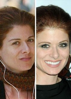 Female Celebrities Without Makeup (47 Photos)